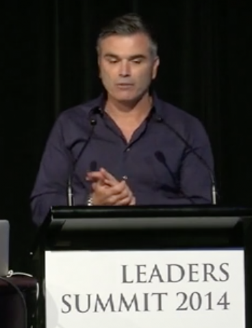 Eugene Marchese speaks at the 2014 Leaders Summit