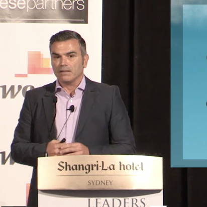 Eugene Marchese at Leaders Summit 2015